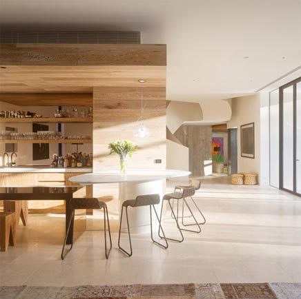 Interior Design of the Yarra in Melbourne House