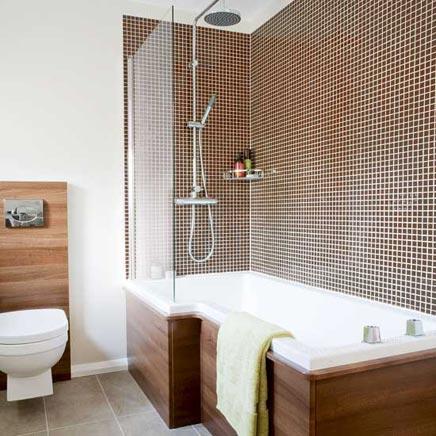 Zomaar wat inspiratie voor de inrichting van je badkamer ...