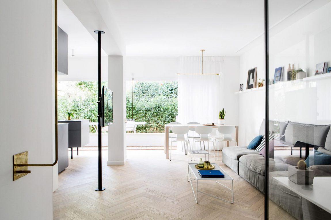 Inspirerend mooi verbouwd appartement van 70m2