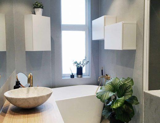 Inspirerende badkamer verbouwing van fashionblogger Lene Orvik