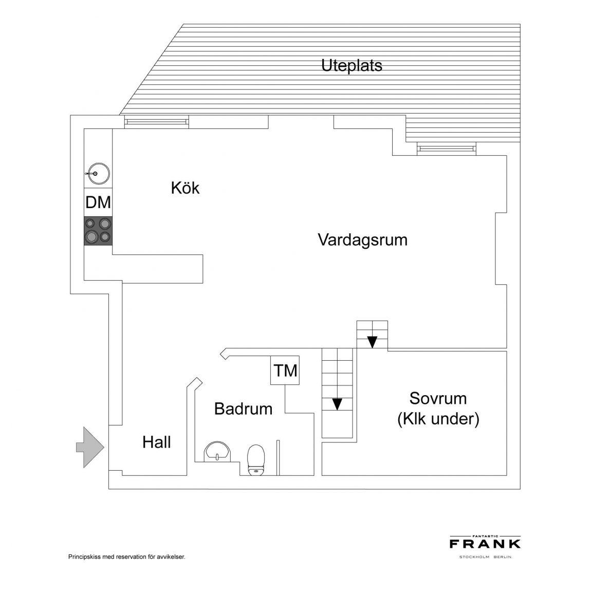 Inspirerende kleine splitlevel woning van 54m2