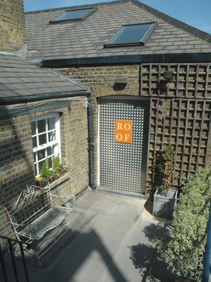 Inspirerende studio in Londen