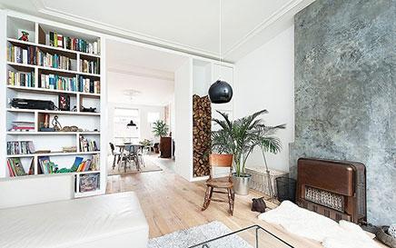 Inspirerende verbouwing van bovenwoning in den haag for Loft interieur den haag