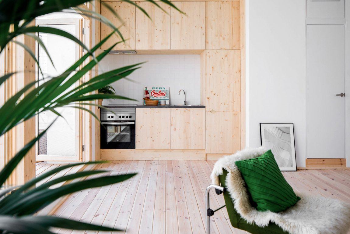 Deze inspirerende woning is ingericht als een oase in Barcelona