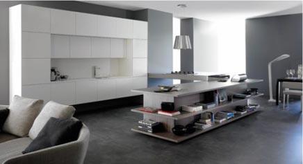 Integratie van keuken en woonkamer | Inrichting-huis.com