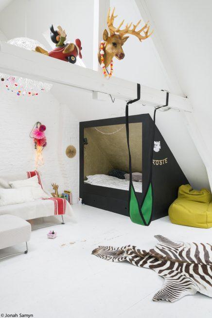 Interieur architect Gwen ontwerpt kinderkamer voor dochter Rosie
