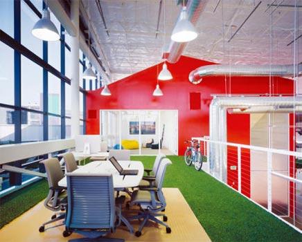 Interieur idee n voor je kantoor inrichting for Interieur bedrijf
