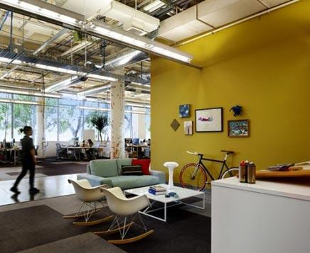 Interieur idee n voor je kantoor inrichting for Kantoor interieur inspiratie