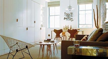 Interieur idee n voor kleine appartementen inrichting for Huis interieur ideeen