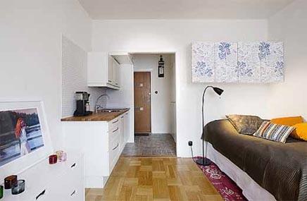 Interieur idee n voor kleine appartementen inrichting for Huis interieur tips