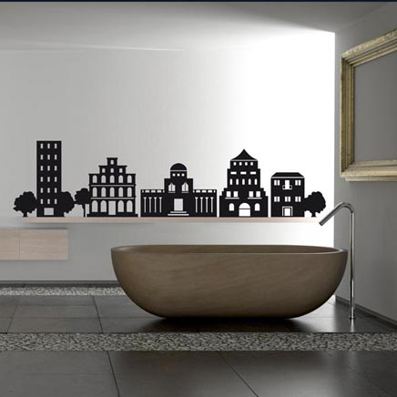 Interieur idee n met muurstickers inrichting for Interieur design ideeen