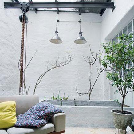 Interieur ideeën van voormalige garage