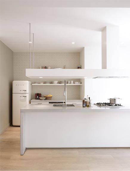 Interieur idee n inrichting for Interieur frigo smeg