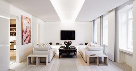 Minimalistische interieur inrichting inrichting huis.com