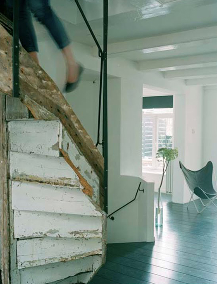 Interieur inrichting loft Karin & Alain