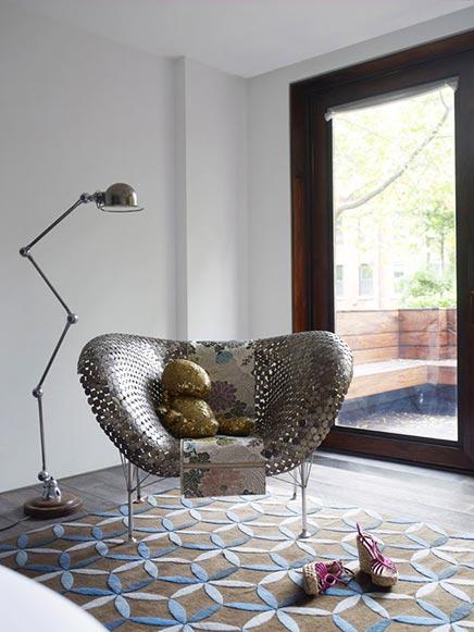 Interieur inrichting van modeontwerper in New York