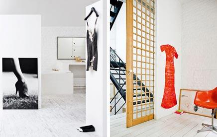 Interieur inrichting van modeontwerpster Johanne Rijs