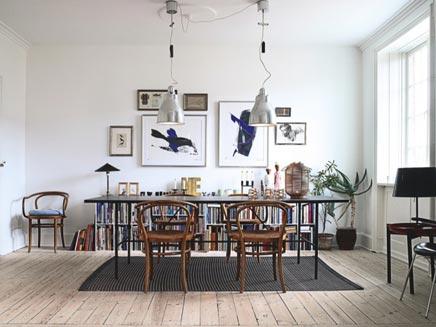 Interieur inrichting van ontwerpster Christina Halskov