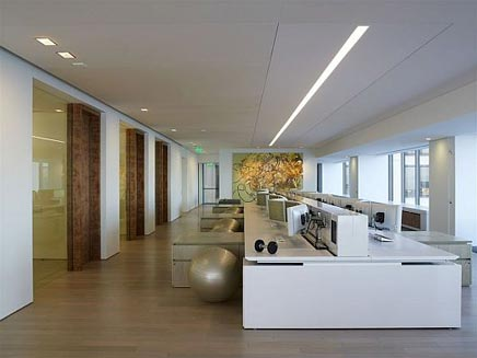 interieur kantoor van artis capital management