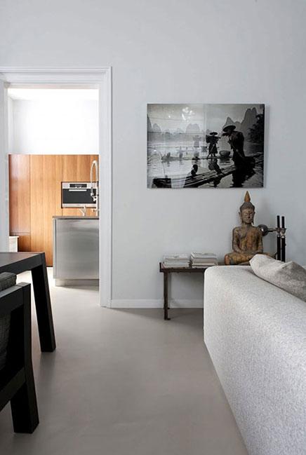 Interieur van een statig appartement