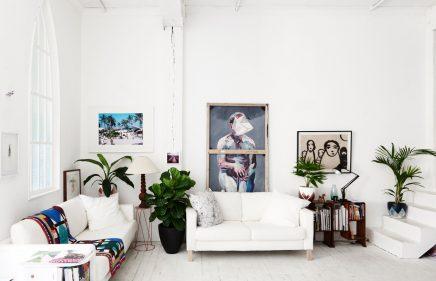 Interieur wit schilderen