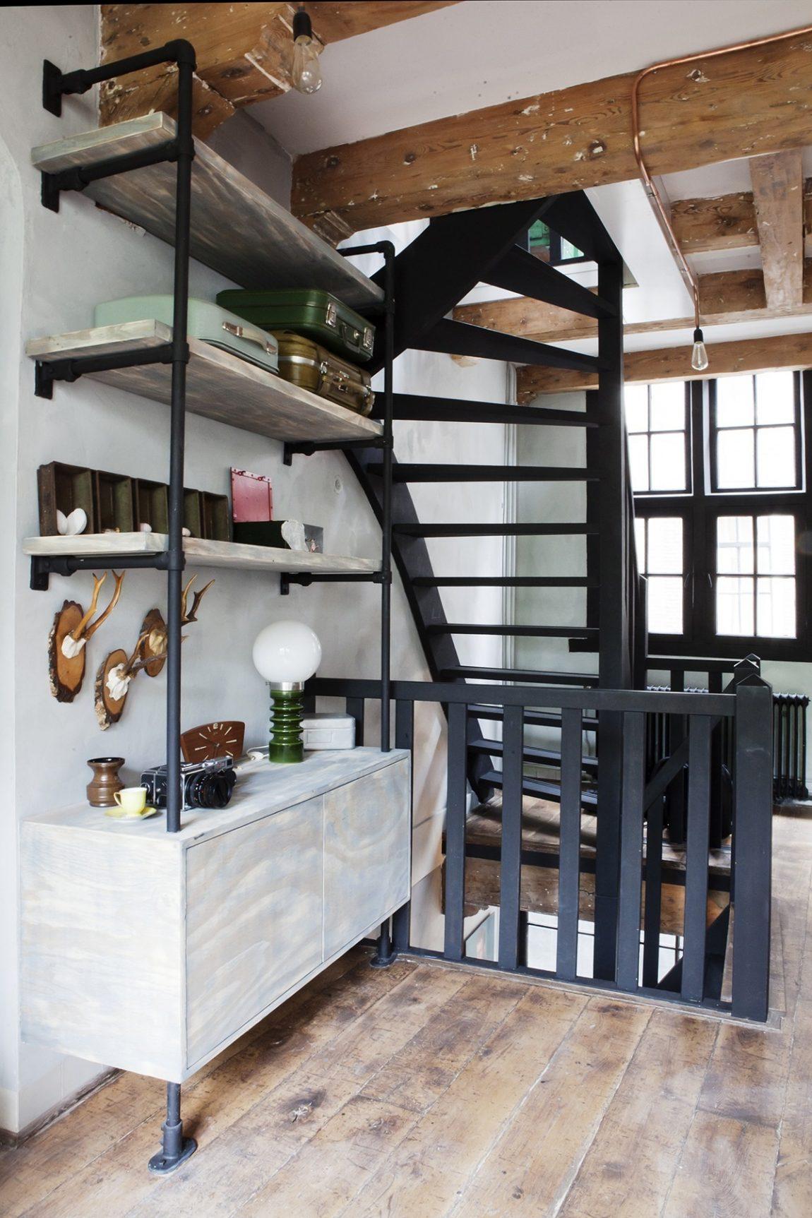 Eclectisch familiehuis in amsterdam inrichting for Eclectische stijl interieur