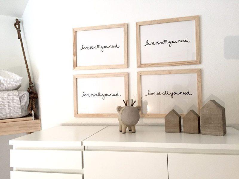 Interieurontwerpster Ginger ontwerpt neutrale gedeelde kinderkamer voor haar zoontje en dochtertje