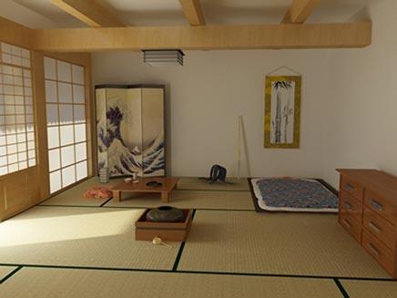 Japanse slaapkamer  Inrichting-huis.com