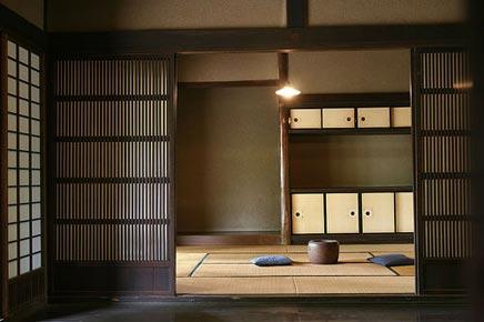 Japanse slaapkamer