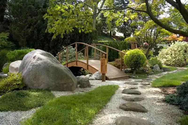 japanse tuin brug