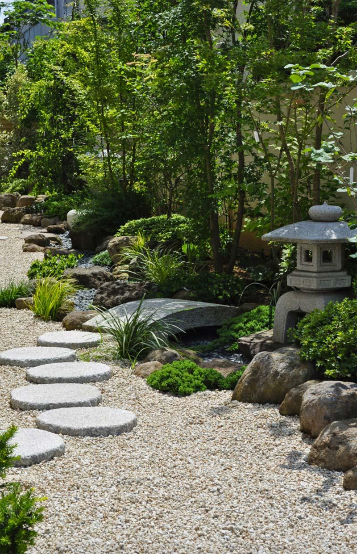 japanse tuin looppad grind