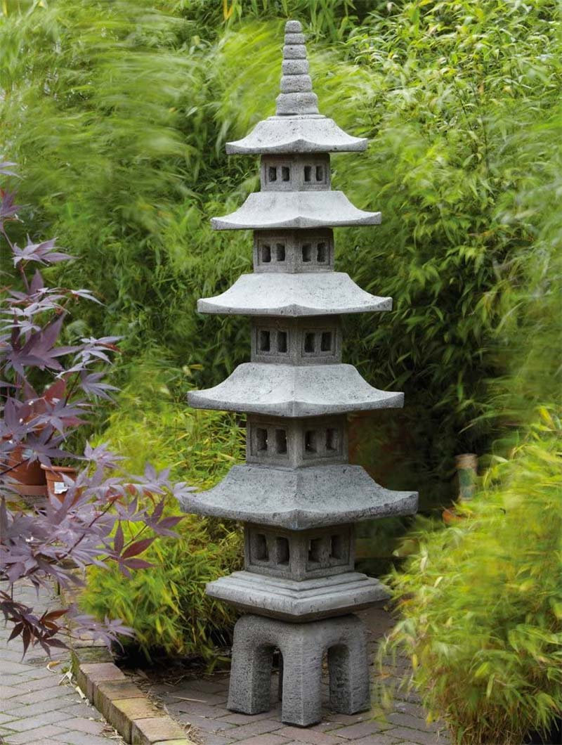 japanse tuin pegoda