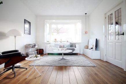 30 woonkamer jaren smal for Zandkleur muur