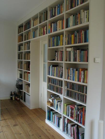 Je eigen bibliotheek inrichting - Moderne bibliotheek ...