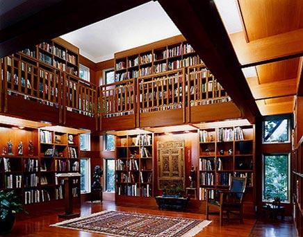 Je eigen bibliotheek inrichting - Woonkamer design bibliotheek ...