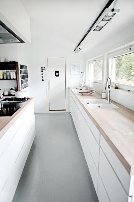 Keuken keukeneiland smalle - Smalle keuken ...
