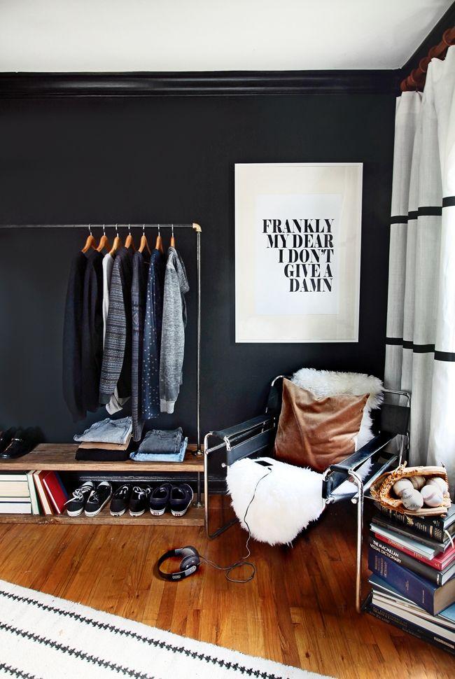 Stoere stijlvolle jongenskamer inrichting - Man bedroom decorating ideas ...