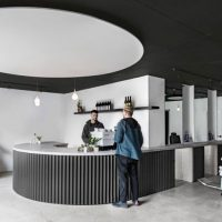 Juice, combinatie van een mini café en barbershop