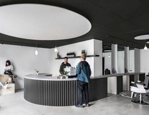 Juice, combinatie van een mini café en barbershop