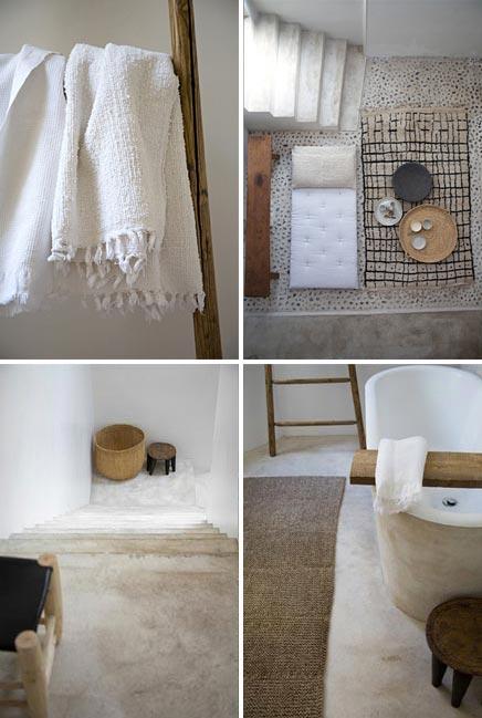 Kalkverf in de badkamer  Inrichting huis com