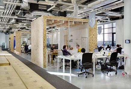 Kantoor van Airbnb in Dublin
