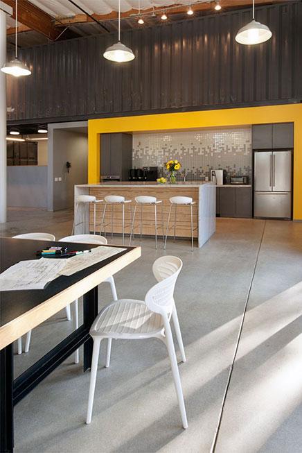 Kantoor van architect en interieur ontwerp buro cuningham group inrichting - Ontwerp huis kantoor ...