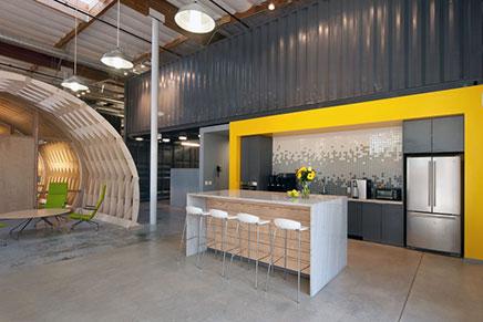 Kantoor van architect en interieur ontwerp buro Cuningham Group