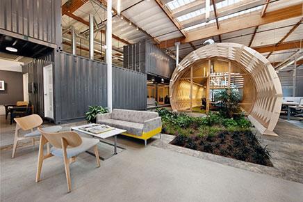 Interieur kantoor ontwerp