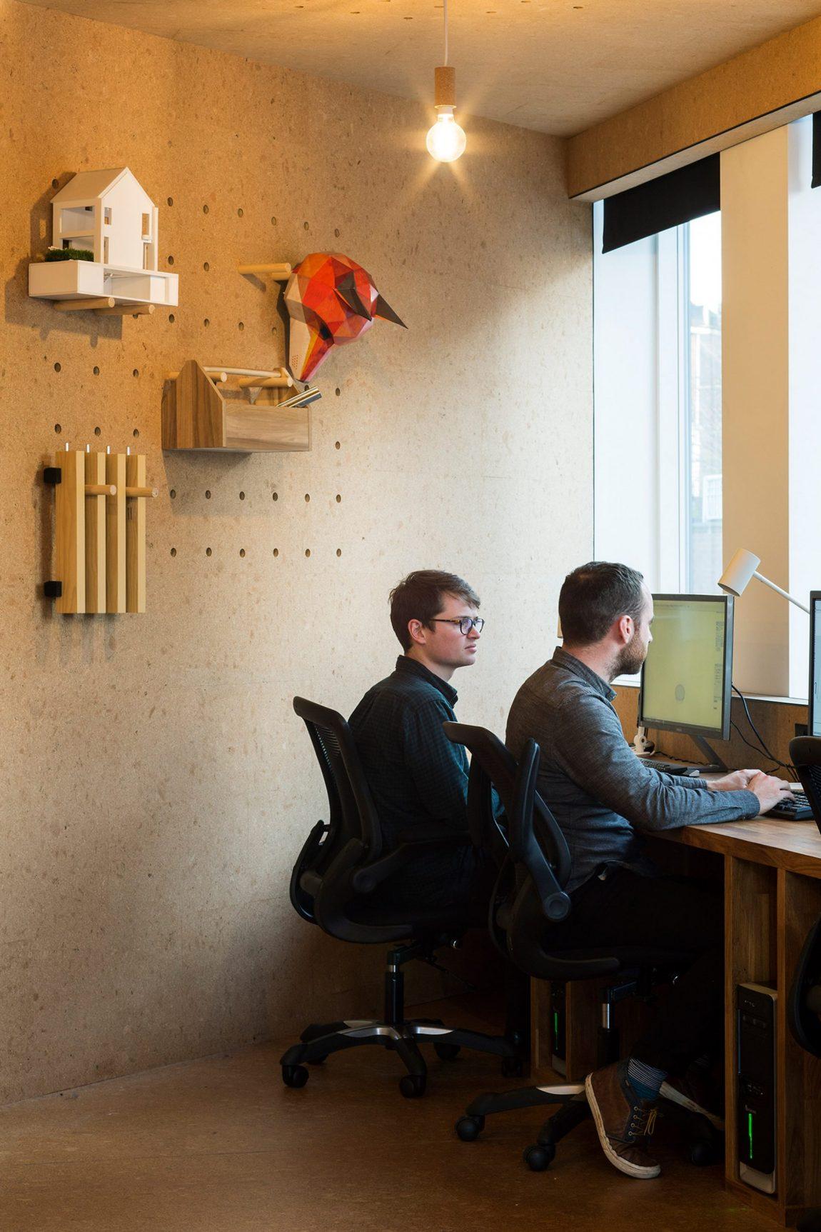 Het kantoor van architectenbureau Selencky Parsons