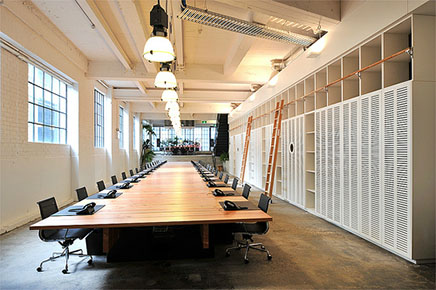 Kantoorinrichting Van Hypernuit : Kantoor van reclamebureau host uit sydney inrichting huis