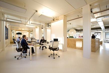 Arno wolterman het kantoor van in10 inrichting for Kantoor interieur ideeen