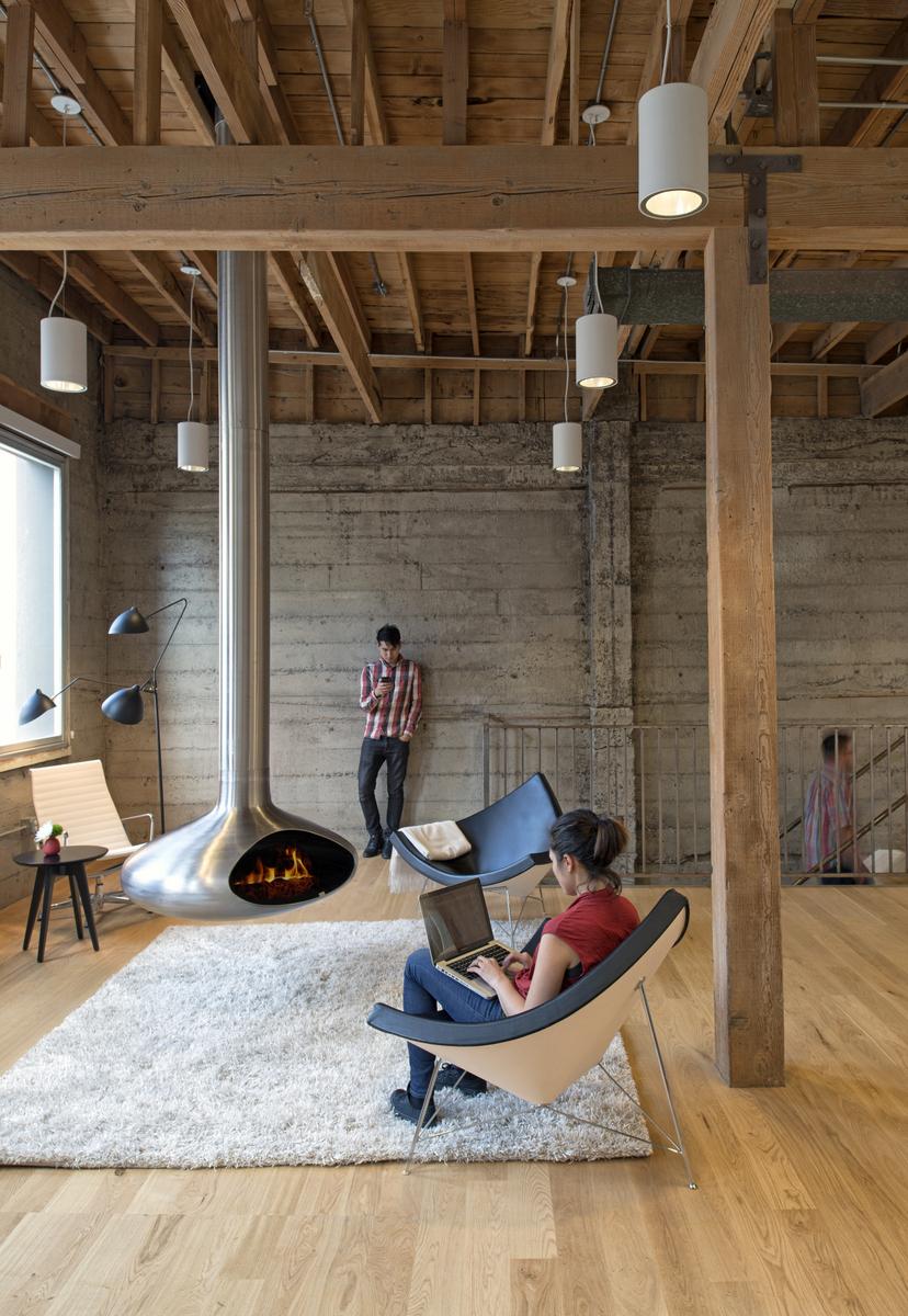 kantoor inrichten tips knus houtkachel