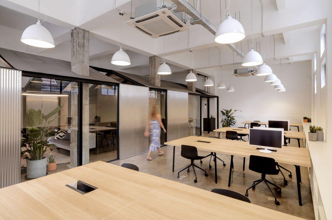 kantoor inrichten tips open werkplekken