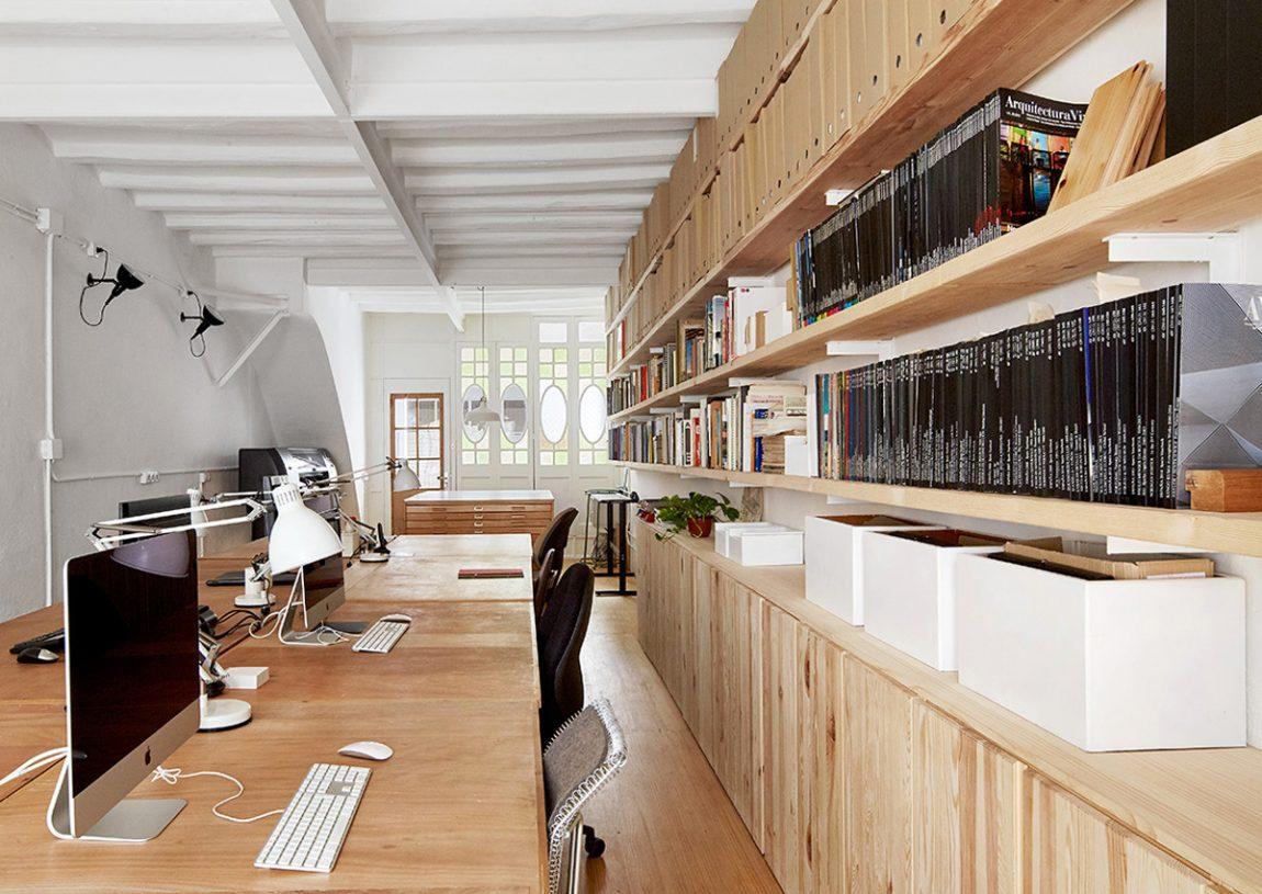 kantoor inrichten tips opslagruimte - kasten en planken